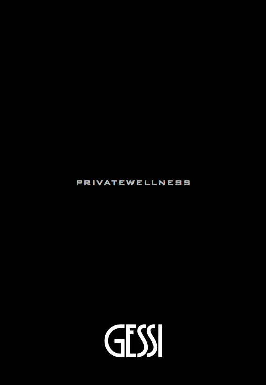 Gessi private wellnes